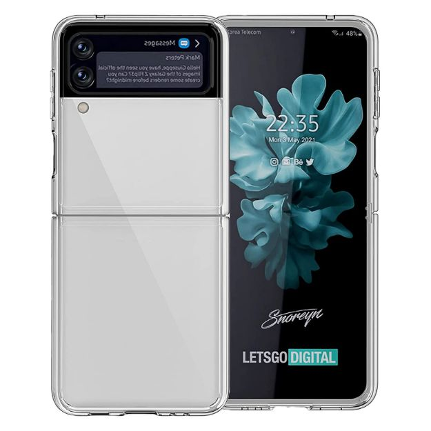 Galaxy Z Flip 3 Clear Case